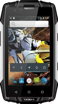 Смартфон TeXet TM-4083 (черный/желтый)