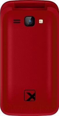 Мобильный телефон TeXet TM-204 (красный)