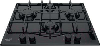 Газовая варочная панель Hotpoint PCN 642/HA(BK)
