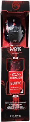 Мышь Marvo M315+G1 (+ коврик)