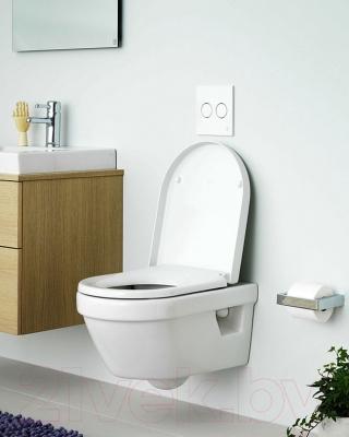 Унитаз подвесной Gustavsberg Hygienic Flush 5G84HR01