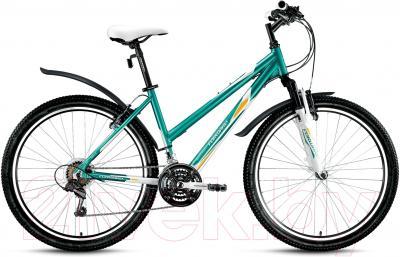 Велосипед Forward Jade 1.0 2016 (17, бирюзовый/белый)