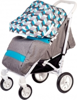 Детская прогулочная коляска Babyhit Drive (синий/серый) -
