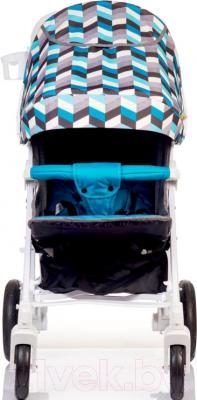Детская прогулочная коляска Babyhit Drive (синий/серый)