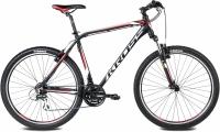 Велосипед Kross Hexagon R3 2016 (L, черный/белый/красный матовый) -