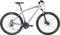 Велосипед Kross Hexagon R4 2016 (L, серый/черный/красный матовый) -