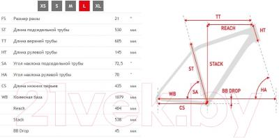 Велосипед Kross Hexagon R4 2016 (L, серый/черный/красный матовый)