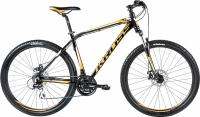 Велосипед Kross Hexagon R4 2016 (L, черный/оранжевый/белый глянец) -