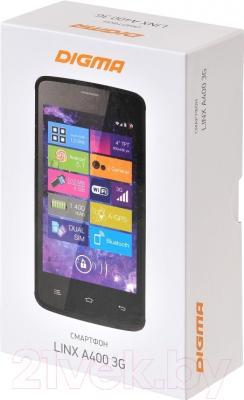 Смартфон Digma Linx A400 3G (графит)