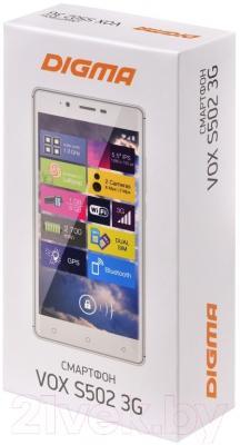Смартфон Digma Vox S502 (белый)