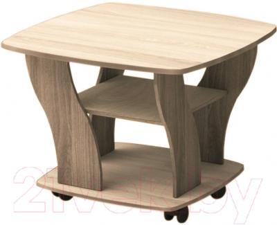 Журнальный столик Мебель-Класс Верона (ясень шимо/светлый)