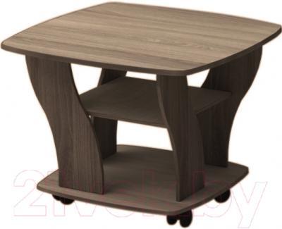 Журнальный столик Мебель-Класс Верона (ясень шимо/темный)