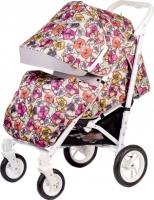 Детская прогулочная коляска Babyhit Drive (Flowers) -