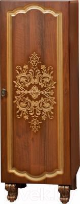 Шкаф-полупенал для ванной Bliss Багира 1Д 0465.6