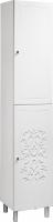 Шкаф-пенал для ванной Bliss Нежность 2Д 0464.3 -