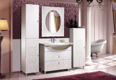 Шкаф-пенал для ванной Bliss Нежность 2Д 0464.3