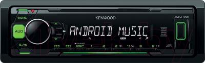 Бездисковая автомагнитола Kenwood KMM-102GY