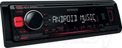 Бездисковая автомагнитола Kenwood KMM-102RY