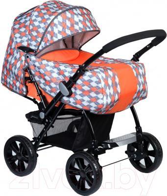 Детская прогулочная коляска Babyhit Country (оранжевый)