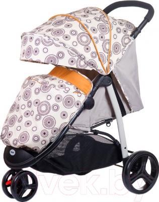 Детская прогулочная коляска Babyhit Trinity (Beige Circles)