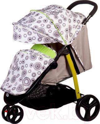 Детская прогулочная коляска Babyhit Trinity (Green Circles)