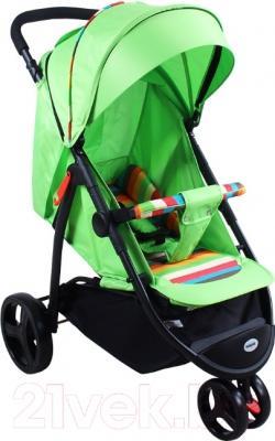 Детская прогулочная коляска Babyhit Trinity (Green Strips)