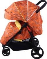 Детская прогулочная коляска Babyhit Trinity (оранжевый с кругами) -
