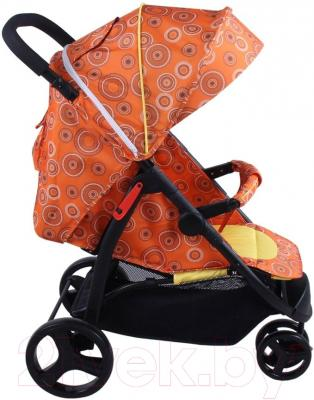 Детская прогулочная коляска Babyhit Trinity (Orange Circles)