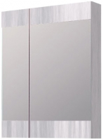 Шкаф с зеркалом для ванной Aqwella Бриг Br.04.06/Gray (сосна магия) -