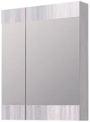 Шкаф с зеркалом для ванной Aqwella Бриг Br.04.06/Gray (сосна магия)