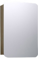 Шкаф с зеркалом для ванной Aqwella Вега Veg.04.05 (дуб сонома) -