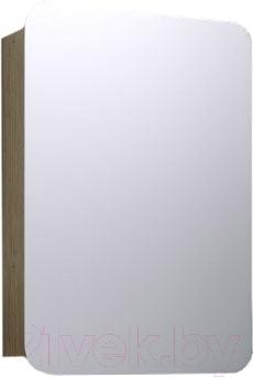 Шкаф с зеркалом для ванной Aqwella Вега Veg.04.05 (дуб сонома)
