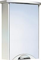 Шкаф с зеркалом для ванной Aqwella Ультра Люкс 50 Ul-l.04.05.G -