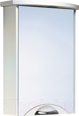 Шкаф с зеркалом для ванной Aqwella Ультра Люкс 50 Ul-l.04.05.G