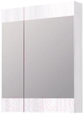 Шкаф с зеркалом для ванной Aqwella Бриг Br.04.06/W