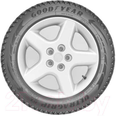 Зимняя шина Goodyear UltraGrip Ice Arctic 195/65R15 95T (шипы)