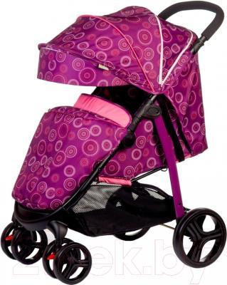 Детская прогулочная коляска Babyhit Racy (фиолетовый с кругами)