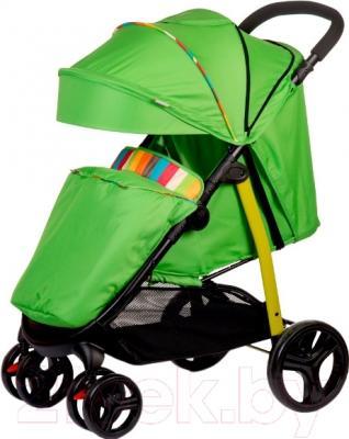 Детская прогулочная коляска Babyhit Racy (Green Strips)