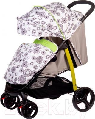 Детская прогулочная коляска Babyhit Racy (Green Circles)