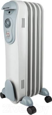Масляный радиатор Vitek VT-2120 GY