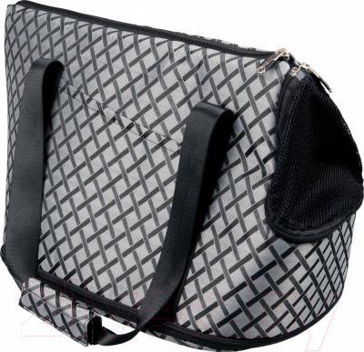 Переноска для животных Trixie Gordon 36212 (серый/черный)