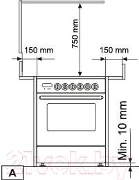 Кухонная плита Zigmund & Shtain VGE 36.98 X