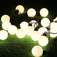 Светодиодная гирлянда Авилюкс Шарики LED LSB-7013 (теплый белый) -