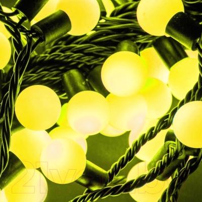 Светодиодная гирлянда Авилюкс Шарики LED LSBP-7115 (желтый)