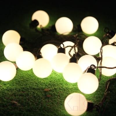 Светодиодная гирлянда Авилюкс Шарики LED LSBP-7115 (теплый белый)