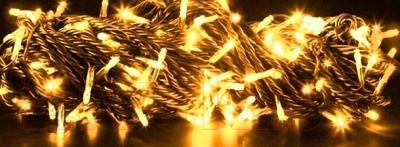 Светодиодная гирлянда Авилюкс Твинклайт LED-058-1/100-Y (желтый)