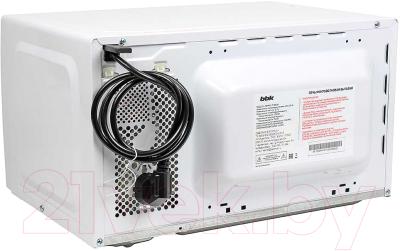 Микроволновая печь BBK 20MWS-710M/W - вид сзади