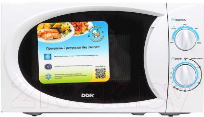 Микроволновая печь BBK 20MWS-710M/W - вид спереди 2