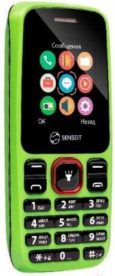 Мобильный телефон Senseit L105 (зеленый)