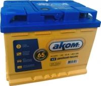 Автомобильный аккумулятор AKOM 6СТ-65 Евро EFB (65 А/ч) -